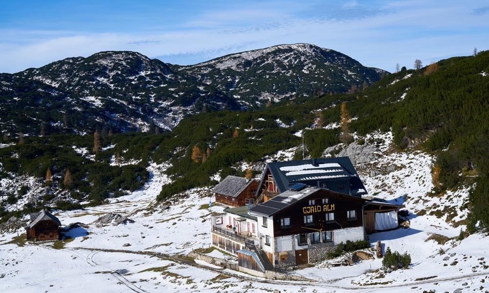 Oostenrijks berglandschap